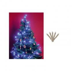 LED 20 vianočná reťaz, modrá