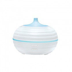 Ultrazvuková aromalampa, farebná/teplá biela
