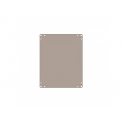 ARIA 54 montážna doska, kovová 450x350x2mm