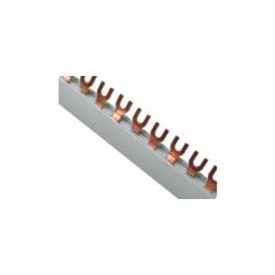 Prepojovacia lišta 2-pól., 10mm2, vidlička