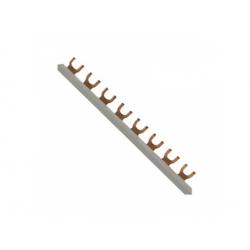 Prepojovacia lišta, 1-pól., 10mm2, vidlička