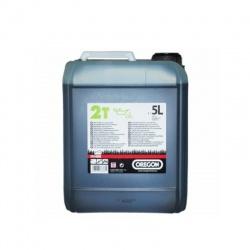 Olej 2-taktný 5l, zelený