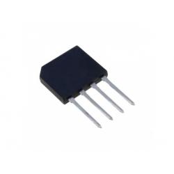 1,5A/600V SIL +ww- usmerňovací mostík