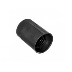 1351-13000 plastová objímka E27, čierna