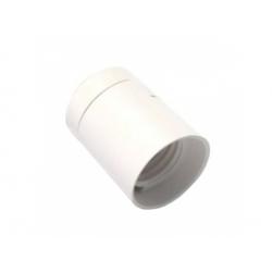 1351-13400 plastová objímka E27, biela
