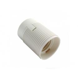 1352-13400 plastová objímka E27, biela