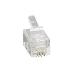 RJ9/RJ10 4P4C telefónny konektor