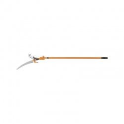 Nožnice záhradné s pílkou 300mm, kovová teleskopická násada 1,3-2,5m, VRCPRO