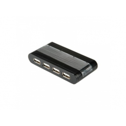 USB 2.0 hub, 4-porty so zdrojom