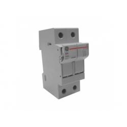 Poistkový odpínač, 2-pólový, 32A, 10x38mm