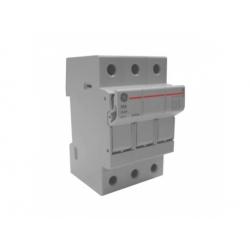 Poistkový odpínač, 3-pólový, 32A, 10x38mm