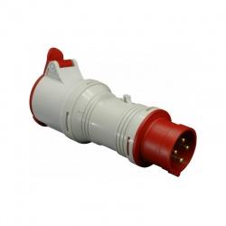 A 16-32/4 adaptér 4-kolík 16A-32A, IP 44