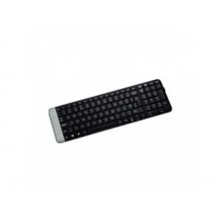 K230 bezdrôtová klávesnica, čierna