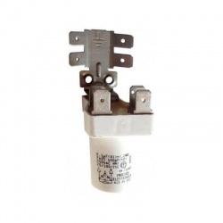 0,1uF+2,2MOhm, 2x2500pF kondenzátor odrušovací, BOSCH