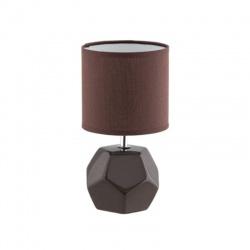 GALEN stolová lampa, hnedá