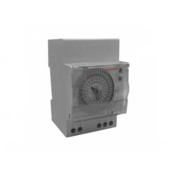 7x24/3, 16A/250V hodiny spínacie analógové, týždenné