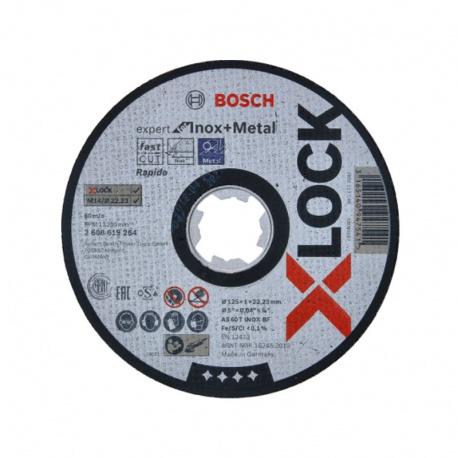 X-LOCK Expert kotúč rezný na kov a nehrdzavejúcu oceľ 125x1,0 mm Bosch