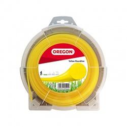 3,0mm x 56m rezné lanko do žacej hlavy, okrúhle, žlté