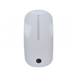 Nočné LED svietidlo so svetelným senzorom, 1W , 230V, biele