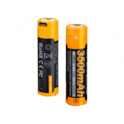 Nabíjateľná USB batéria FENIX 18650, 3500 mAh (Li-ion)