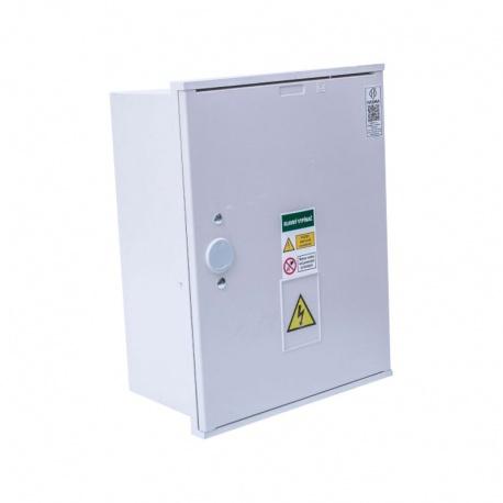 RE1.0 S W xxA P1 elektromer. rozvádzač zapustený, 2-tarif. bez ističov
