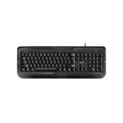 Klávesnica Genius KB-118 USB CZ+SK, čierna