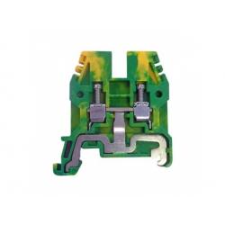 4mm2 svorka, zelenožltá