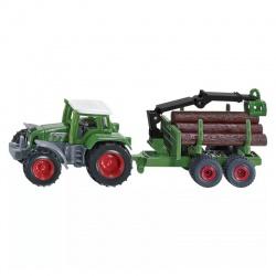 Hračka traktor FENDT s lesným prívesom