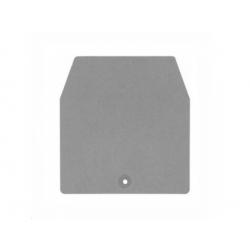 Koncová doska pre typ CBC 35mm2, sivá