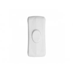 0534H 1-pólový spínač šnúrový, biely