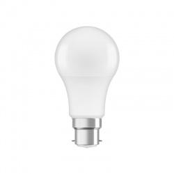 P CLAS A60 8,5W/827 B22d LED žiarovka, teplá biela