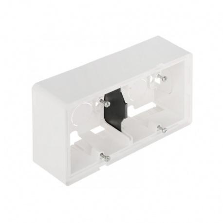 754192 2-krabica na povrch, biela