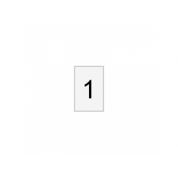 Označovací štítok, č.1