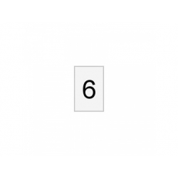 Označovací štítok, č.6