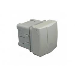 IZV 3253 zásuvka so škatuľou pod omietku, IP 44
