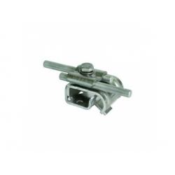 Odkvapová svorka 2xRd 8-10mm rozsah uchytenia 16-22mm, FeZn