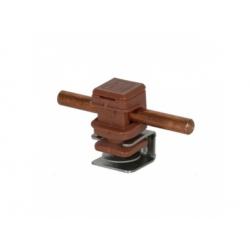 Podpera vedenia Rd 8 na plochú krytinu a konštrukcie snap, V 16mm, upnutie 4-6mm