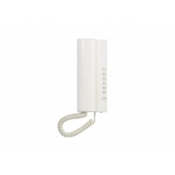 4FP21103.201 Elegant telefón s reguláciou hlasitosti, biely