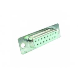 CANNON F na kábel, 2-radový, 15-pin