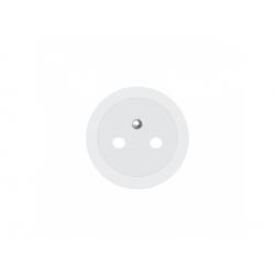 68111 kryt zásuvky, biely