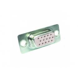 CANNON F na kábel, 3-radový, 15-pin