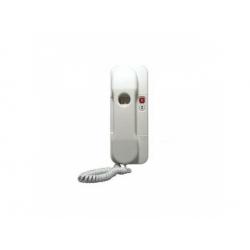 DT 85 telefón s tlačidlom protistanice, biely