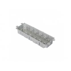 KPP 80 LB krabica prístrojová podlahová, sivá