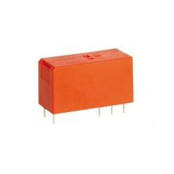 2 prep. kontakty, 24V, AC, 8A, pinning 5mm, relé