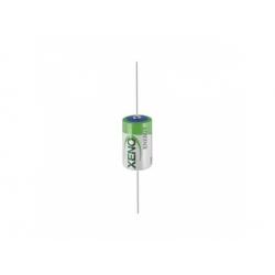 1/2AA 3,6V 1,2Ah líthiový akumulátor, axiálne vývody
