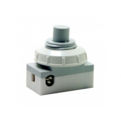 3274-01824 tlačidlový prepínač, 1-pólový, sivá