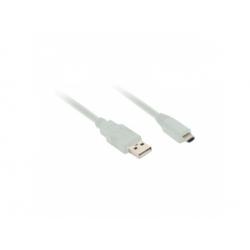USB 2.0 A konektor - USB B mini4 konektor, 2m