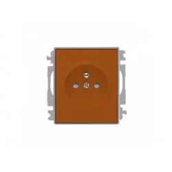 5519E-A02357 07 zásuvka, karamelová/ľadová sivá