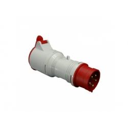 A 1653/43 adaptér 5P/4P 16A, IP 44