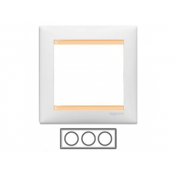 3-rámik, biely/bežový 774483